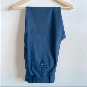 Men's 30/32 modern fit blue dress slacks